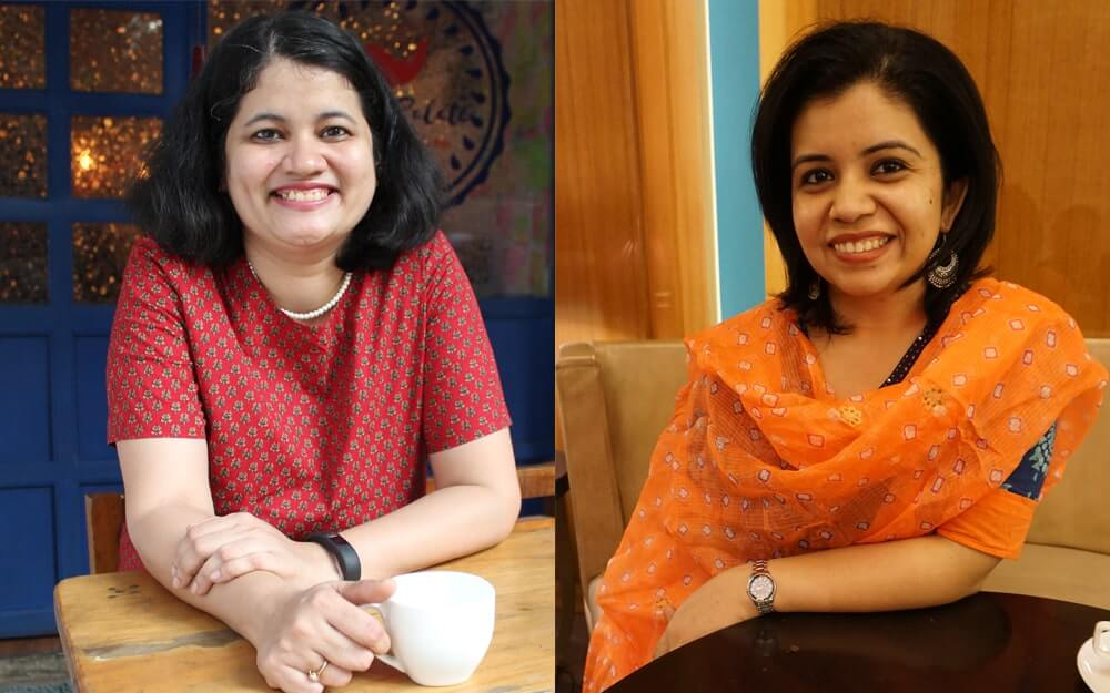 Wordberries founders Divya Palekar and Avanti Ubhayakar