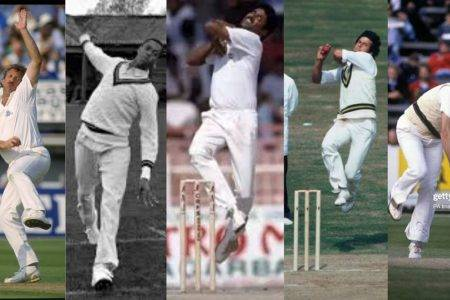 Five international cricketers who never stepped over the line to concede a no  ball.