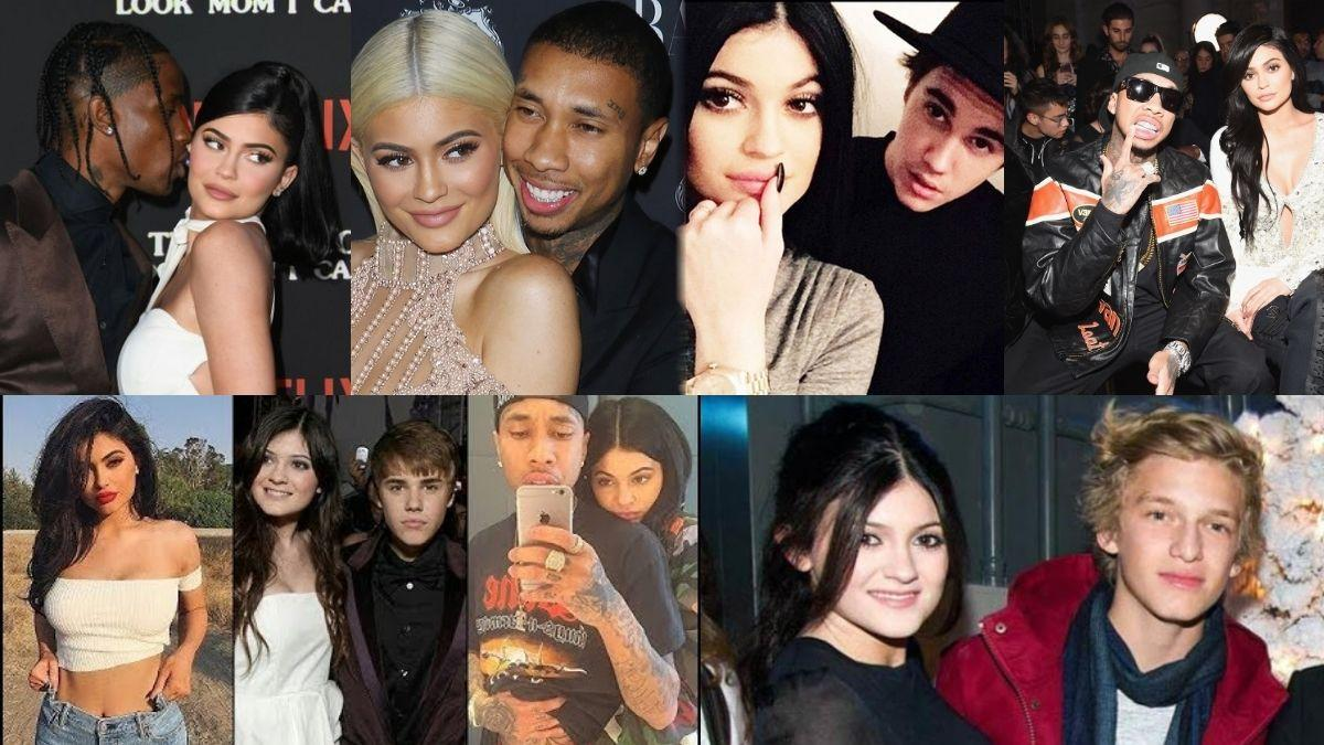 kylie jenner dating istoric
