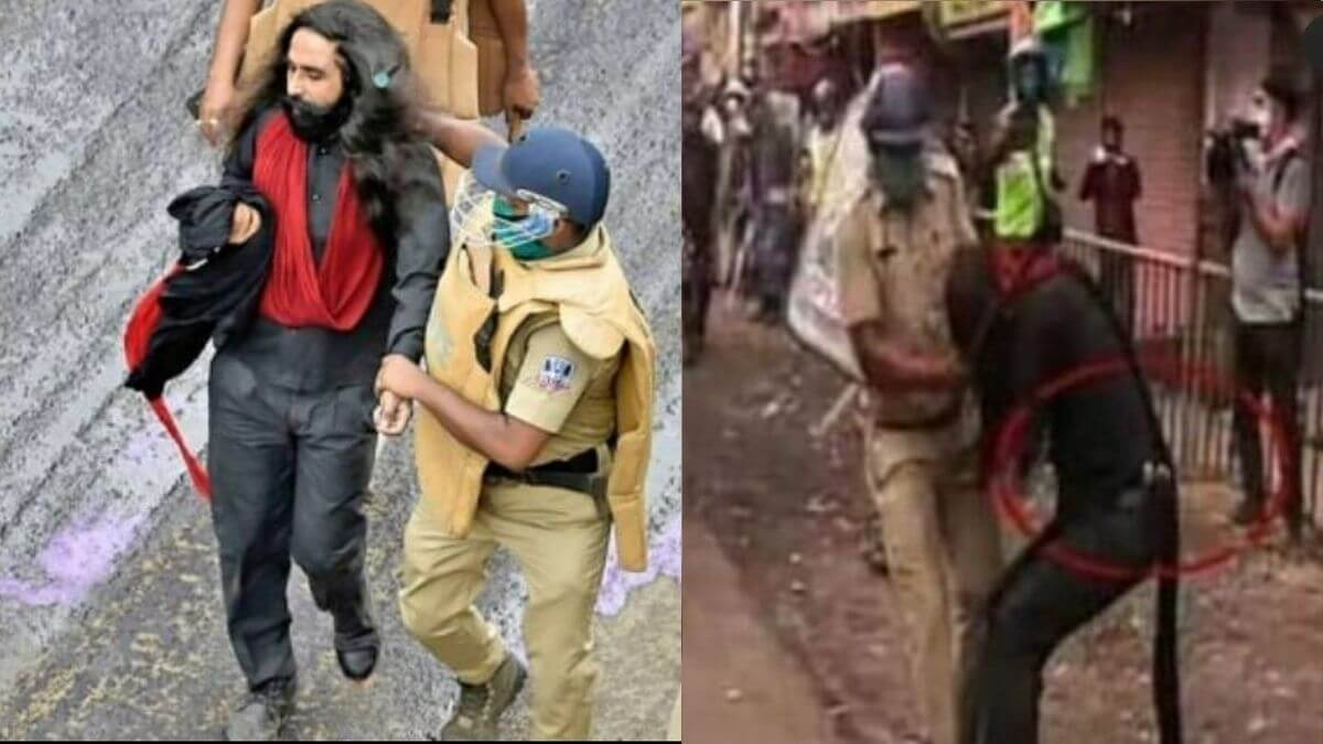 Turban forcefully removed of a Sikh while being brutally assaulted by West  Bengal Police