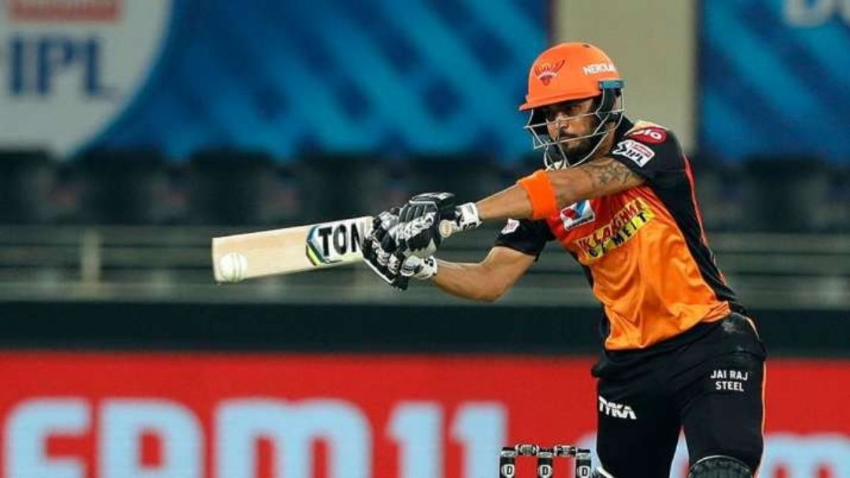 Dream11 IPL 2020 SRH vs RR: Manish Pandey rises to the occasion as Sunrisers  win by 8 wickets